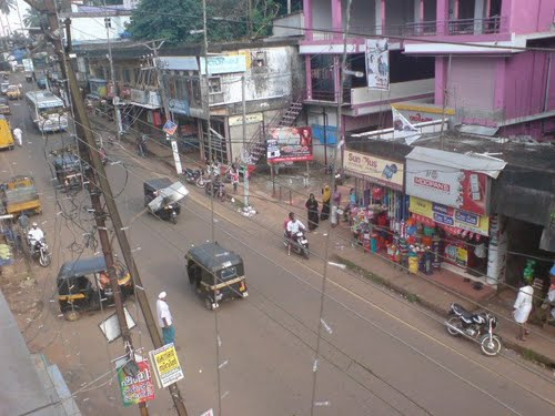 VAILATHUR TOWN CENTRE BEFORE FEW YEARS.